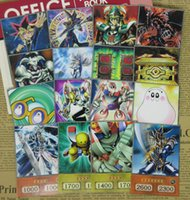 No.14 16pcs / Set Yu-GI-OH Yu-GI-OH Yugi Muto Classic Style Yugioh Cartes Yugi-Goy Signature Cétic Guardian silencieux magicien Hard-Paper Ygo