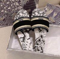 Женские летние тапочки дизайнерские сандалии высококачественные плоскодонные мокасины дамы с рамкой Flop Plop слайд слайд-шоу