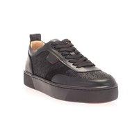"""Primavera / de verano Zapatos casuales para hombre Red Bottop Zapato Spiked Shoe """"HappyRui"""" Junior Black Casuasl Sneakers, París Diseños de lujo Plataforma de ocio soles gruesos"""