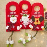 Christmas Tree Decor Door Hanging Pendant Ornament Christmas Decorations For Home Hotel Door Xmas Gift Natal Decoration Santa Claus Snowman