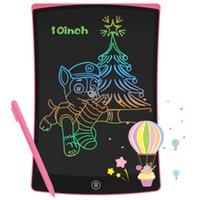 Newyes electronic lcd schreiben tablet 10 zoll digital zeichnung board bunte handschrift pad kindergraphik mit stift kinder geschenk