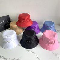 Erkekler Naylon Kova Şapka Tasarımcılar Kapaklar Şapka Erkek Moda Bere Yaz Plaj Kadınlar Donatılmış Cap Bonnet Casquette