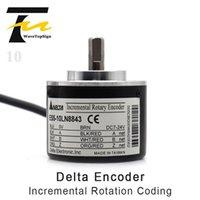 Smart Home Control Delta ES5-0CCN8965 Codificador rotativo incremental OD 50mm eixo sólido 8mm ES5-10CN8843
