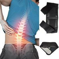 Pedaço de Homens / Mulheres Universal Auto-aquecimento Therapia Magnética Cinto-Preto XL Protetora Engrenagem de Cuidados de Saúde Produtos Preto Cintura Apoio
