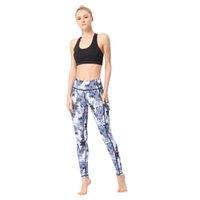 Yogapants Katı Renk Yoga Kıyafetler Kadınlar Yüksek Bel Spor Salonu Giyim Tayt Elastik Fitness Bayan Genel Tam Tayt Egzersiz Pantolon Boyutu S-XL