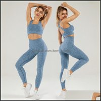 Outfits Exercise Wear Athletic Outdoor Apparel & Outdoors2 Pcs Gym Women Seamless Yoga Set Workout Clothes Super Elastic Sports Suit Sport B