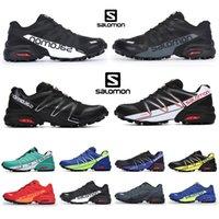 Salomon Speed Cross pro2 CS zapatillas correr para hombre jogging Malla de alta calidad Triple negro blanco azul rojo speedcross hombre mujer zapatillas deportivas aire libre 40-46