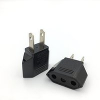 US Japan China Travel Plug Adapter European EU To U S JP Power Adapters Electrical Plugs Converter Sockets AC Charger Outlet