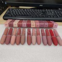 Lip Gloss Matte Liquid Lipstick Lipgloss Makeup Trucco Lustro Retro Gelo Sexy rossetti 4,5 g 12 colori