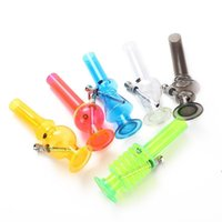 Acrylic Water Pipe for Smoking 20CM Transparent Bongs removable and Washable Pipes LLB8782