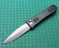 Cuchillo plegable táctico de la llegada más nueva D2 Satin Point Point Blade 6061-T6 Handlle EDC Cuchillos de bolsillo con caja de venta al por menor