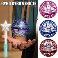 Zk22 Ufo Flying Toy Flyva New Fingertip Gyro Ball Decompression Toy Birthday Gift for Adults kits Fidget Spinner for Gift Toy Q0423