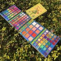 Cocourban 117 couleurs scintillants brillants mâle gros fard à fard à paupières métallique pigmentation poudre pigmentée roule ombre ombre maquillage cosmétique étanche