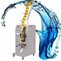 Máquina de embalagem líquida automática de 400w Chili molho de óleo de soja de óleo de vinagre máquina de selagem quantitativa máquina de empacotamento líquido
