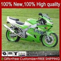 Carrozzeria per Kawasaki Ninja ZX-6R ZX600C ZX 6R 636 600CC 600 cc 94-97 Body 50HC.113 Green Factory BLK ZX-636 ZX600 ZX 6 R ZX636 1994 1995 1996 1997 ZX6R 94 95 96 97 Kit carenatura