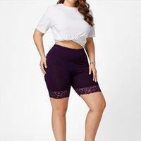 Summer High Quality Lace Patchwork Womens Legging Short Leggins Comfortable Thin Pants Under Skirt Plus Size