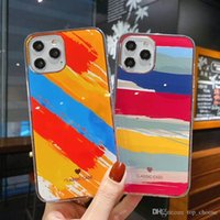 Electroplating Marble Texture TPU Plastic Cases For iPhone 11 12 mini Pro Max Ultra Thin Phone Back Cover Case
