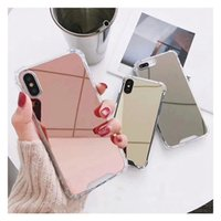 Luxury Clear Makeup Mirror TPU Phone Cases For iphone 13 XS MAX XR 12 11Pro MAX case Shockproof Cover For iphone 7 8 6s plus 11 PRO coque
