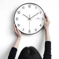 Relógios de parede Metal Nordic Clock Silencioso Minimalista Vintage Mecanismo Digital Orologio da Pareta Decoração da Sala de Living 60wc