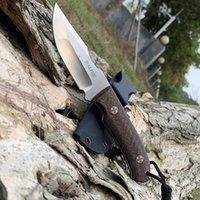 Tranafire GT0155 прямые ножи D2 фиксированные лезвия спасательные тактические ножи хорошие для охоты на отдых на открытом воздухе на открытом воздухе повседневные инструменты ,, с кидекс ножна