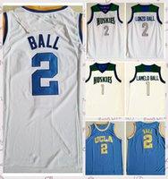 2021 hombres de bajo precio Retro Classic Baloncesto Jersey Lamelo 1 Lonzo Chino 2 Hills Vintage Tamaño corto Tamaño S-2XL Azul Blanco Negro Rojo
