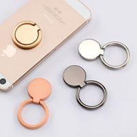 Telefon Ringhalter Ultradünnfinger Kickstand 360 ° Rotation Metallständer und Griff für Magnetwagenhalterung Kompatibel mit iPhone Samsung Xiaomi Huawei Moto LG