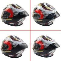 Carbon fiber appearance Motorcycle Rear Trim Helmet Spoiler Case For SHOEI Z7 NEW Z8 Accessories Q0630