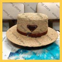 المرأة واسعة بريم القبعات العلامة التجارية للمصدرين المصممين دلو قبعة أنيقة محبوك الصيف سيدة قبعات قبعة بيسبول 21042004W