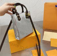 Alta calidad 2021 Lujos Diseñadores Bolsos Mini Totes Bolso Hombro Mensajero Mujeres Extranjero Moda Vintage Bolsos Vintage Impreso Classic Crossbody Clutch Bag Bolse