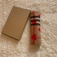 캐시미어 스카프 클래식 복숭아 심장 격자 무늬 스카프 브랜드 남성 및 여성 스카프 180 * 32cm
