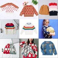 Baby Girls Boys Sweater Automne Printemps Enfants Cactus Vêtements Knitwear Boys Boys Pull Sweater Tricoté Vêtements pour enfants 732 Y2