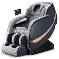 كرسي التدليك الفاخرة صفر الجاذبية 4D التدفئة الكهربائية الاهتزاز كامل الجسم تدليك كرسي 6688A