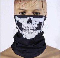 New Skull Printing Mask Halloween Horror Multifunctional Outdoor Sports Bicycle Motorcycle Magic Scarf Wholesale