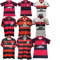 Jerseys de fútbol retro Clube de Regatas do Flamengo 1978 1979 95 96 100 00 on hogares especiales rojo 08 09 10 Vintage Maillo Camiseta 82 88 90 años 78 79 Camisetas de fútbol