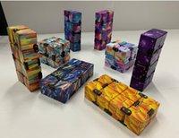 18 Estilo quebra-cabeça cubos Durável requintado descompressão brinquedo infinito cubo mágico para adultos crianças inquietos brinquedos antistress ansiedade desktoy