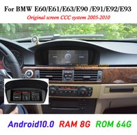 Android 10.0 8 GB RAM 64G ROM Auto DVD-Player Multimedia BMW 5er E60 E61 E63 E64 E90 E91 E92525 530 2005-2010 CCC System Stereo Radio Auto GPS Navigation