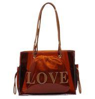 2021 Designers Top-handle Bags For Women fashion Large Clear Luxury Handbags Designer Transparent Hand Single shoulder bag