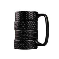 Mugs Tire Shape Coffee Large Capacity Tea Water Cups Creative Drinkware