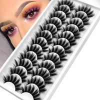 False Eyelashes 5 10 12 Pairs 3D Mink Lashes Natural Makeup Dramatic Wholesale Fake Eyelash Extension