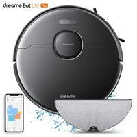 Aspirateurs Dreamse Bot L10 Pro Robot Cleaner 4000Pa Aspiration Powerful 150mins Réservoir d'eau électrique à charge automatique 5200mAh