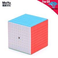 Moyu Meilong Cubo Mágico 9x9 Cuberspeed Stickerels Cubing Classroom 9x9x9 Mofang Jiaoshi Cubo Mago Kids Brinquedos Boys Puzzle