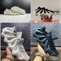 2021 Kanye 450 Облако белые белые туфли темные сланцы мужские женские черные дизайнерские кроссовки вязание приходят статический отражающий тренер кроссовки