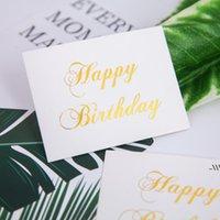 Персонализированная мода бумага пригласительный билет Babyshower день рождения вечеринка свадьба для спасибо гостям подарки благополучие AHA5274