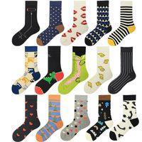 Men's Socks Combed Cotton Breathable Fashion Hip Hop Funny For Men Women 3D Printing Arrivals Large Size