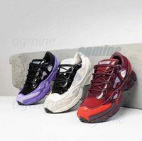 패션 신발 원본 Raf Simons Ozweego III 스포츠 남자 여성 Clunky 금속 실버 스니커즈 Dorky 캐주얼 신발 크기 36-45 x0ta #