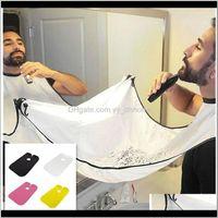 Aprons Shaving Apron Barber Shop Home Accessories Mens Supplies Tools Portable Hair Beard Trimming Cutting Packaging C 4Sffr 95Jk8