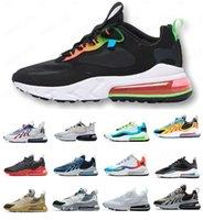Top Calidad 270 Reaccionar SPAG 270S Zapatos para hombre Bauhuas Right Violet EE. UU. Photon Polvo al aire libre Mujeres Hombres Mujeres Entrenadores Deportes Sneakers Corredores