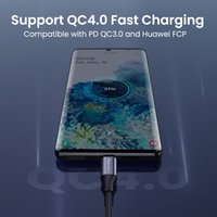 Quick Charging cables 1m 1.5m 2m 3m Type-c Micro Braided Alloy PD USb Cable For Samsung s10 s20 s21 note 20 etc..