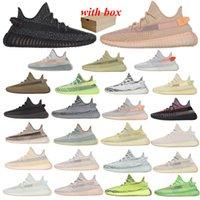 Kanye 정적 3m 반사 실행 캐주얼 신발 Belgua 2.0 세미 냉동 노란색 상자 디자이너 남자 여성 트레이너 운동화 EUR 36-46