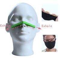 Parti Favor Anti Sis Burun Köprü Şerit Silikon Maske Sisleme DIY Koruma Aksesuarları Gözlük Önlemek Tek tek paketlenmiş 536 S2
